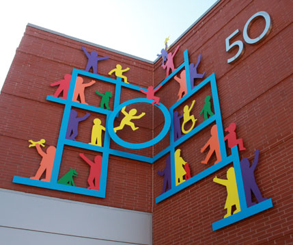 Wall Sculpture for Baystate Children's Hospital