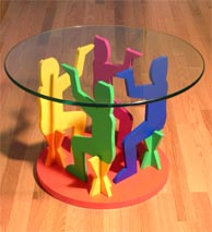 Chairyatid Circle Table